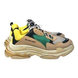 Balenciaga triple S beige sneakers